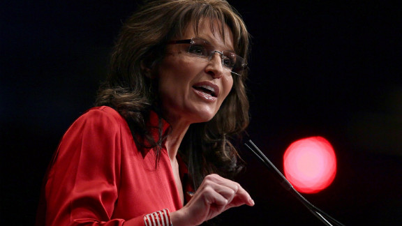 Sarah Palin addresses the Conservative Political Action Conference on February 11 in Washington, D.C.
