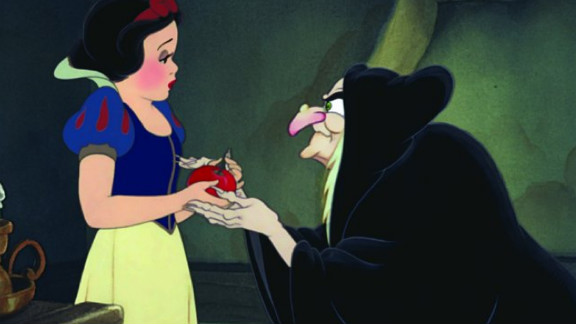 """Disney's 1937 animated account of """"Snow White and the Seven Dwarfs"""" is based on Jacob and Wilhelm Grimm's violent folk tale. The animated classic features the vocal stylings of Adriana Caselotti as Snow White."""