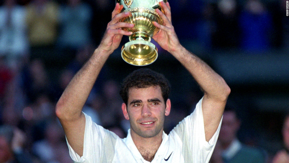 He won his 13th major title at Wimbledon in 2000, passing the previous leading total held by Australia's Roy Emerson.