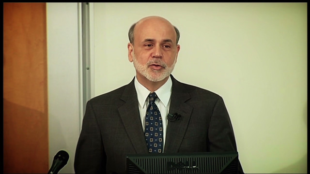 Ben Bernanke heads back to the classroom to discuss the 2008 financial crisis.