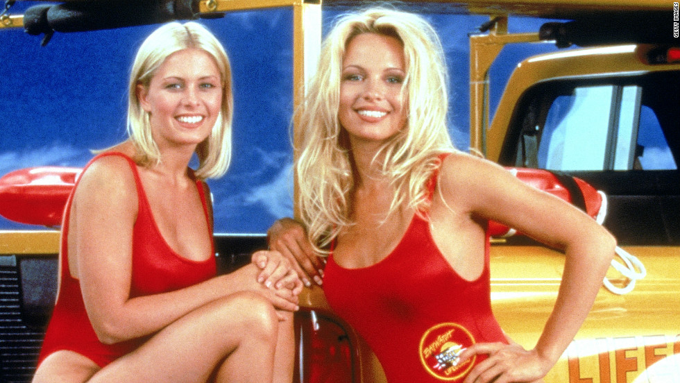 Anderson shot to fame in the hit U.S. TV show Baywatch, in which she played lifeguard C.J. Parker between 1992 and 1998.