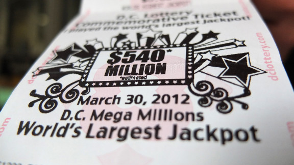 A Mega Millions ticket sold in Washington on Friday. The jackpot has skyrocketed by $300 million, and is likely to climb, since the last drawing on Tuesday.