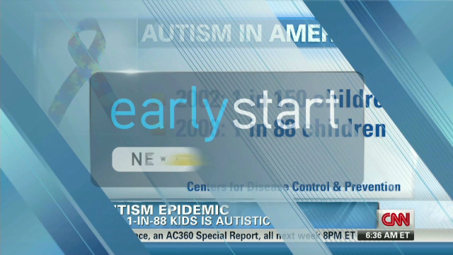 Study says 1 in 88 kids autistic
