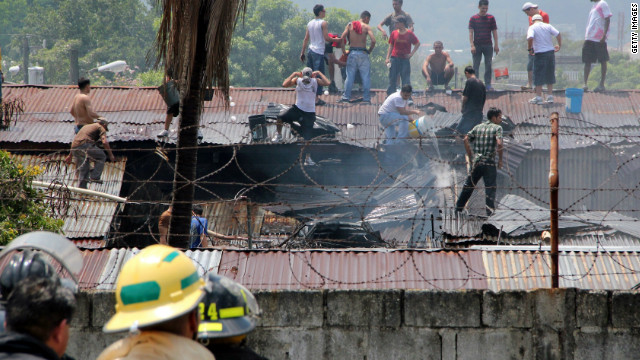 Another Honduran prison fire claims lives