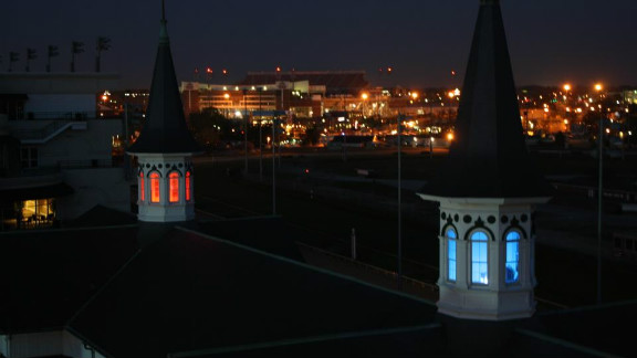 One of Churchill Downs