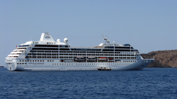 The Azamara Quest, seen in this 2008 photo, was disabled by an engine fire.
