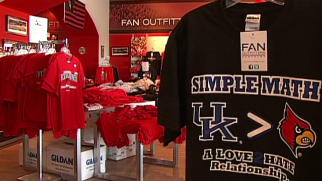 Kentucky and Louisville rivalry