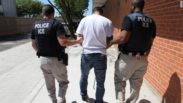 ICE ERO arrested more than 3,100 convicted criminal aliens, fugitives and immigration violators in a six-day nationwide enforcement action