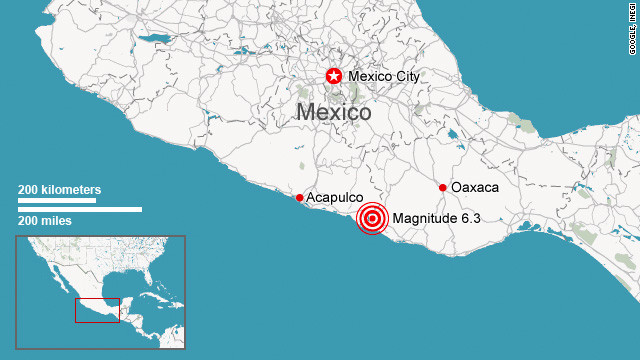 the usgs describes mexico as one of the most seismically active areas of the world