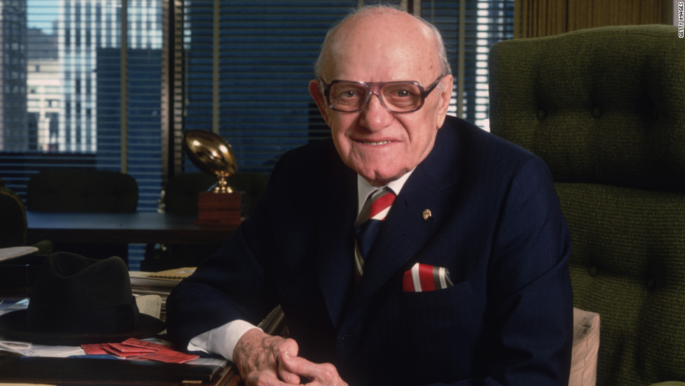 "Though far from a superstar, George Halas played  in 12 Major League Baseball games in 1919. The next year, he joined the Decatur Staleys football team. In 1921, he bought the squad and moved it to Chicago, where it became the Bears. For several years, ""Papa Bear"" was everything -- owner, player, coach, manager and ticket-seller -- and stayed on as coach long after his playing days ended. His family still controls the team."