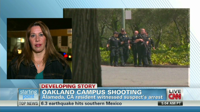 Witness: Campus shooter 'distraught'
