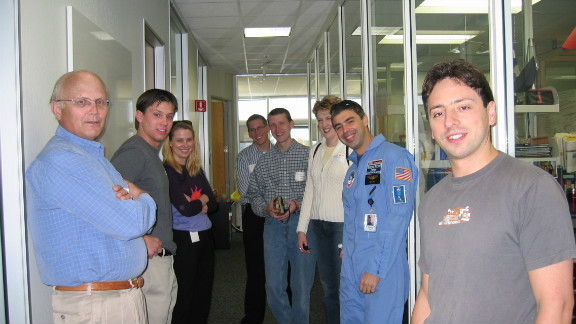 """Early days at Google, Halloween 2004. After agonizing over 14 job offers, she chose to join Google in 1999 because, she says, """"I felt like the smartest people were there, I felt like it was a risk and I felt like it was something I wasn't really prepared to do."""""""