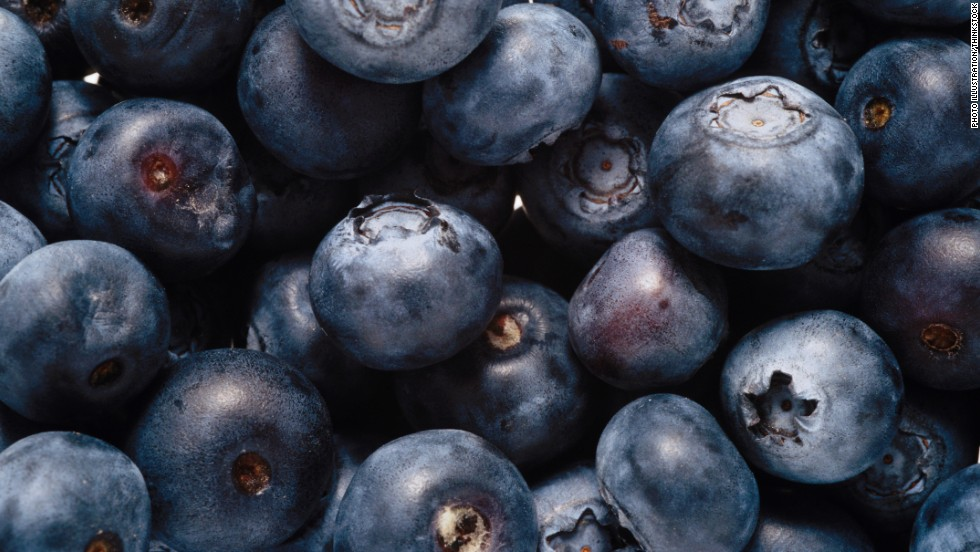 "Blueberries are often singled out as a superfood because studies have shown they aid in everything from fighting cancer to lowering cholesterol. But all berries, including raspberries, strawberries and blackberries, contain antioxidants and <a href=""http://www.webmd.com/diet/phytonutrients-faq"" target=""_blank"">phytonutrients</a>.  Worried about the price of fresh fruit? Experts say frozen berries are just as ""super."""