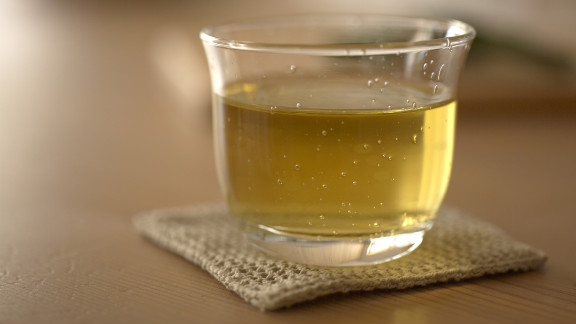 Staying hydrated will keep you from munching absentmindedly, and if you choose to drink green tea, you