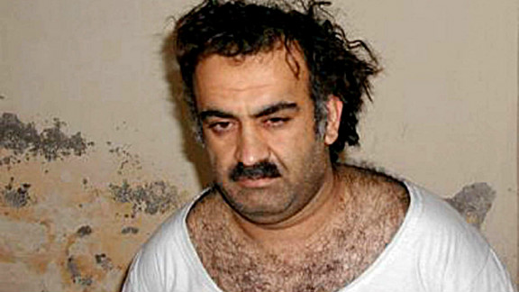 The U.S. issued charges on April 4, 2012, against Khalid Sheikh Mohammed (file photo), along with four alleged plotters.
