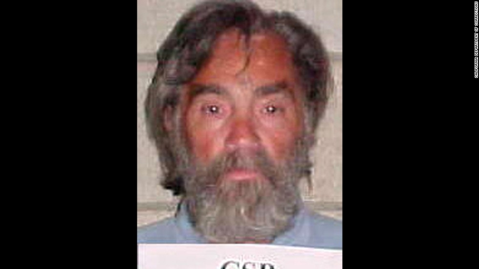 Manson is pictured in a prison  photo from 2002.