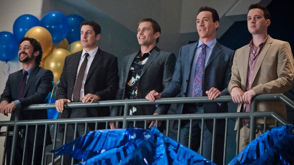 """""""American Reunion"""" reconnects with the old gang nine years later -- older, milder, but still hungering for a bigger slice."""