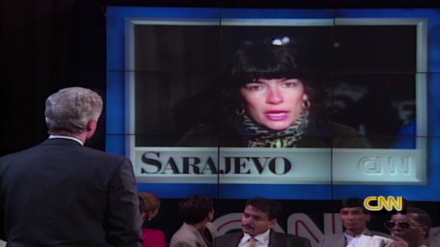 1994: Amanpour questions Bill Clinton