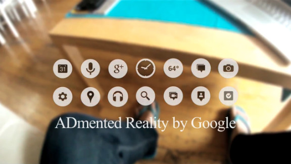 The glasses even spawned a parody YouTube video called ADmented Reality, which mashed together Google Glass screens with the company's desktop screen advertisements.
