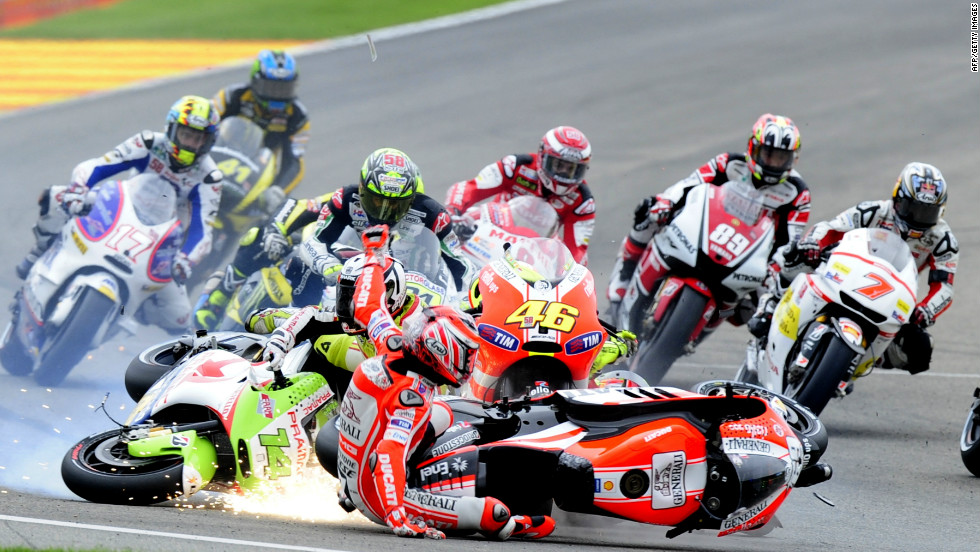 Rossi's teammate Nicky Hayden was a world champion with Honda in 2006, but finished eighth last year and crashed in the final race. The 30-year-old American is starting his fourth season at the Italian team.