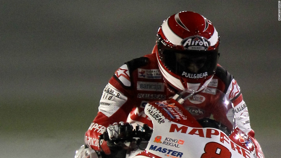 Spanish rider Hector Barbera has switched to the Pramac Racing team for 2012 after two years at Ducati, where he finished 12th and then 11th overall.