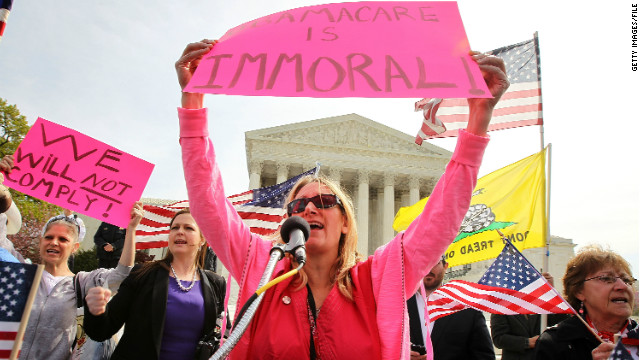 The Supreme Court is expected to rule on the constitutionality of the health care reform law this month.