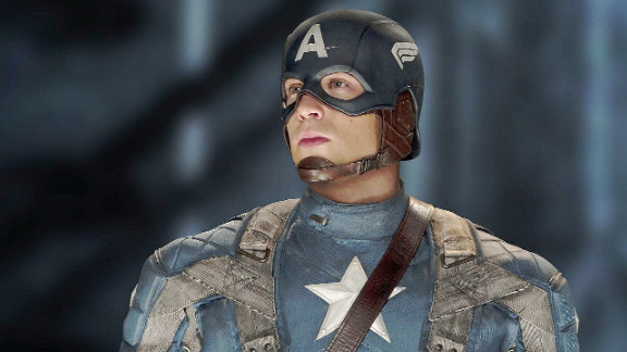 "Chris Evans stars in ""Captain America: The First Avenger"" in 2011. Evans will star in the sequel set for April 2014."
