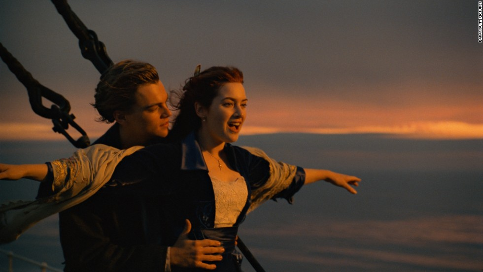 "Leonardo DiCaprio and Kate Winslet first appeared together in James Cameron's ""Titanic"" in 1997. The pair, who are friends off-screen, starred alongside each other again in 2008's ""Revolutionary Road."" Winslet's then-husband, Sam Mendes, directed the film."