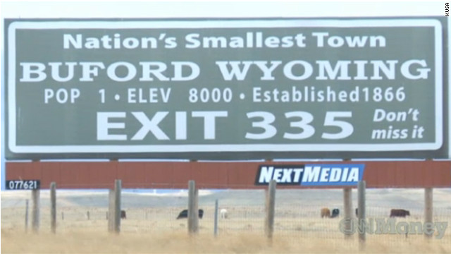 2010: Wyoming man has his own ZIP code