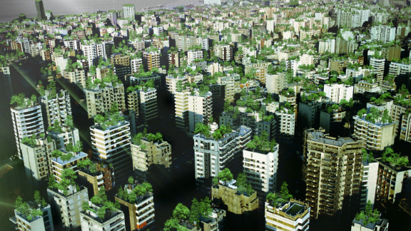 A bird's eye view of the projected impact. A recent United Nations Development Program report said that Beirut will add 300,000 new buildings in the next decade, leaving the already crowded city with virtually no public spaces.