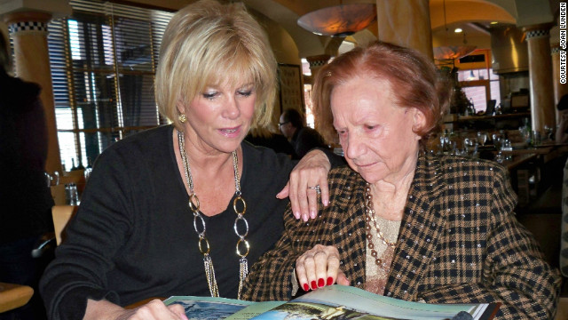 One way Joan Lunden spends time with her mother, Gladyce, is by making photo books for them to share.