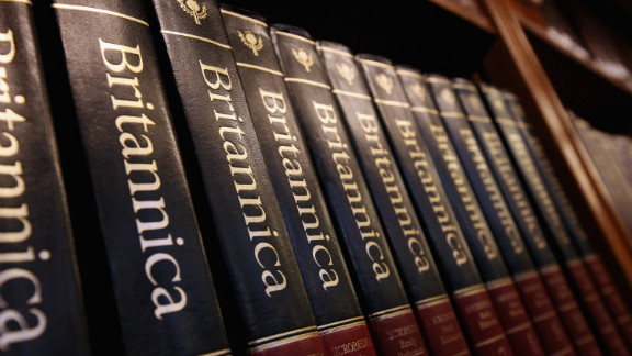 After 244 years, the print version of the Encyclopedia Britannica is being discontinued.