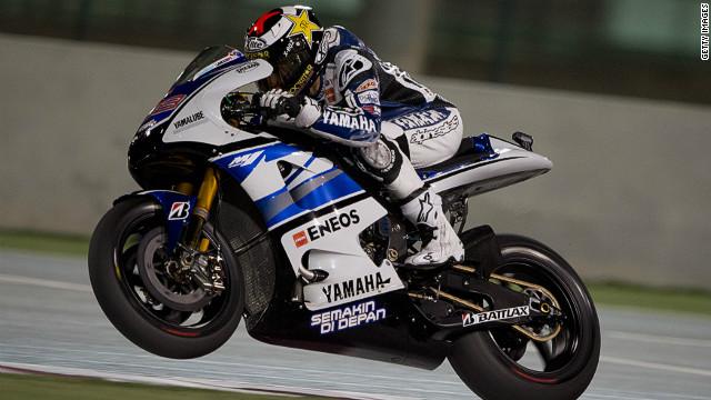 Lorenzo on pole for opening MotoGP in Qatar - CNN