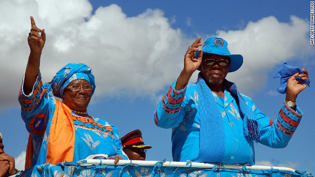 President leaves Malawi in ruin