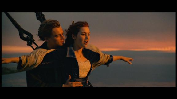 """""""Titanic"""":  Leonardo DiCaprio and Kate Winslet star in what has become one of the greatest cinematic love stories of all time. (Netflix)"""