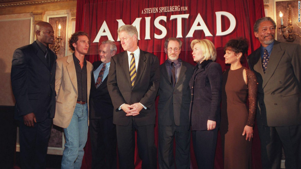 Reaction to movies: Amistad, Blue is the warmest color, The Lunchbox - Essay Example