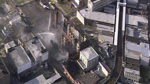 Officials are investigating the cause of a five-alarm fire that led to the deaths of two Philadelphia firefighters Monday.