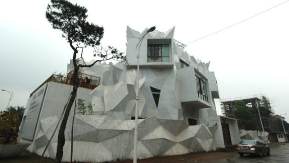 Yangjiang Group studio is an organic work in progress.