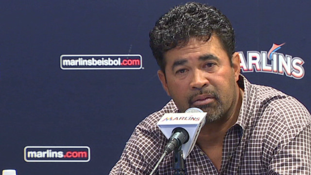 Marlins'  manager suspended