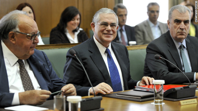 Greek Prime Minister Lucas Papademos has said Greece will call a snap election on May 6.