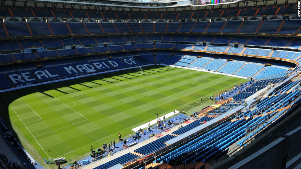 The pitch at Real Madrid's Santiago Bernabeu Stadium will be transformed into a tennis court for the Nadal and Djokovic match on July 14. It is hoped more than 80,000 fans will attend, making it the biggest one-off tennis match in history.