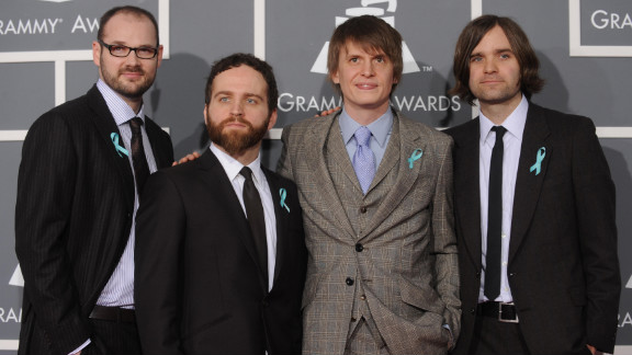 Death Cab for Cutie, shown here in 2009 at the Grammy Awards.