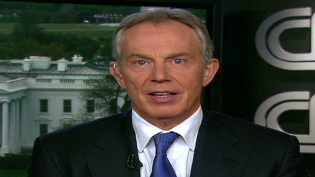 Blair: No confidence in what Syria says