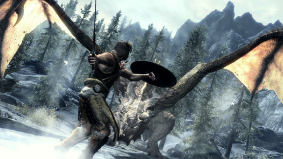 """This is either a scene from """"Skyrim"""" or someone answering a Craigslist ad in Grand Rapids, Michigan."""