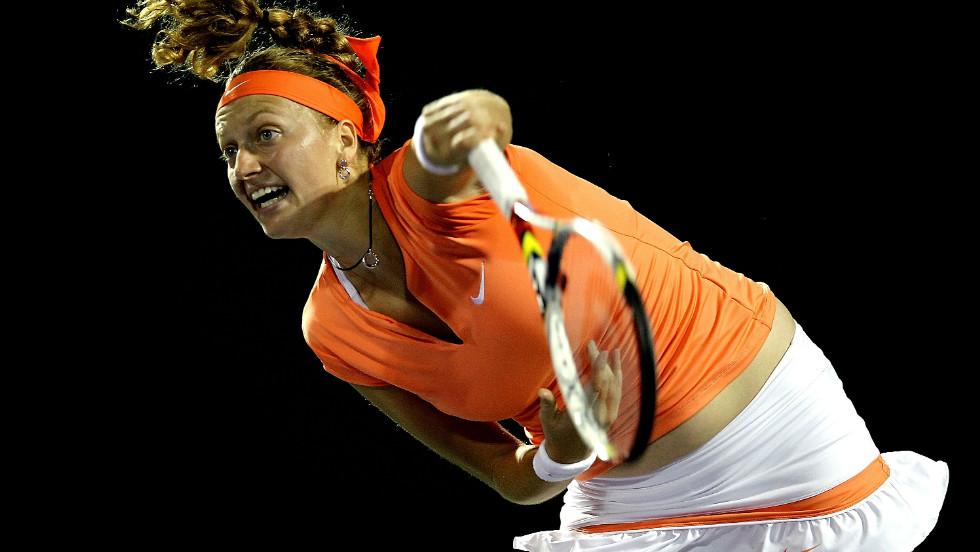 World No. 3 Petra Kvitova is hoping a tough fitness regime will deliver her to the top spot.