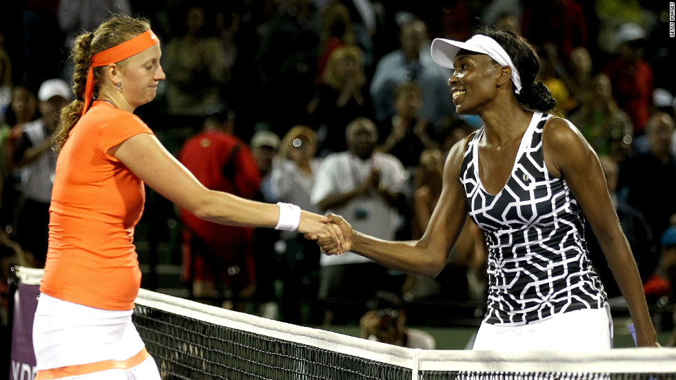 Worse was to come in Key Biscayne, Florida, when Kvitova lost her opening match to Venus Williams, who was playing her first tournament after a long absence due to an incurable illness.