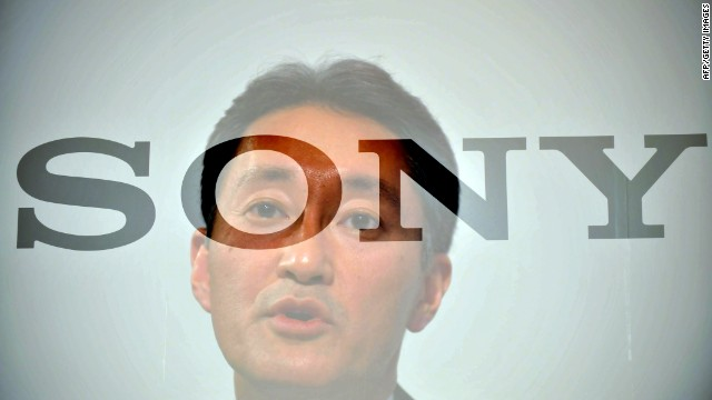 Sony's new CEO Kazuo Hirai launched an ambitious plan Thursday to turn around the company.