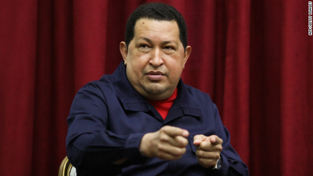Venezuelan President Hugo Chavez denied accusations that his country provided safe harbor to FARC guerrillas.