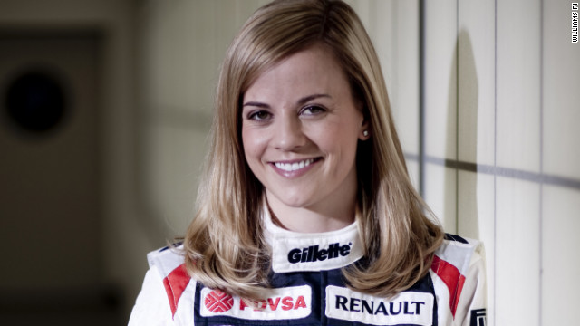 Scotland's Susie Wolff has been signed as a development driver at the Williams F1 team.