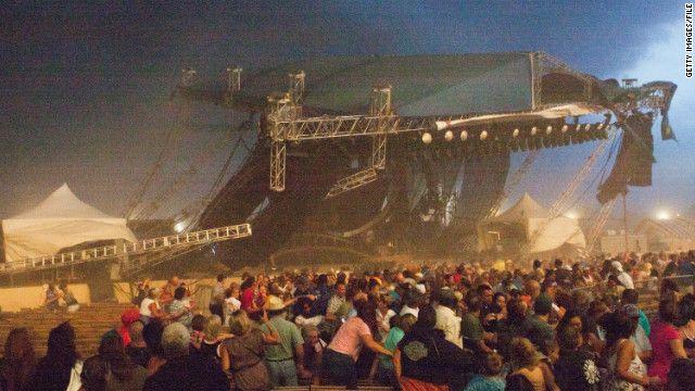 Reports: Indiana State Fair stage where seven died was
